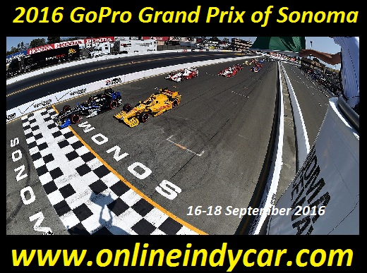 2016 GoPro Grand Prix of Sonoma Live Online