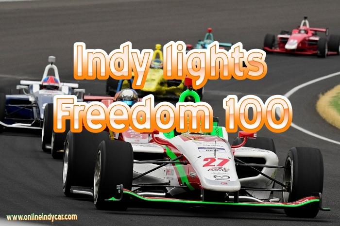 Indy lights Freedom 100 Live Stream