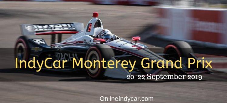 IndyCar Monterey Grand Prix Live Stream