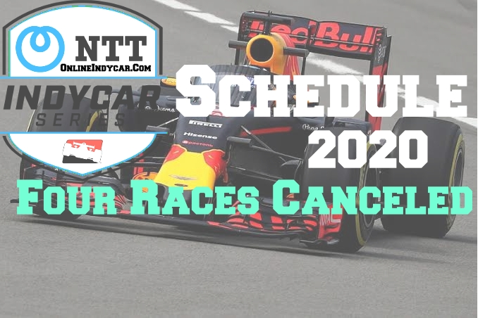IndyCar first 4 races 2020 season schedule canceled due to coronavirus fear
