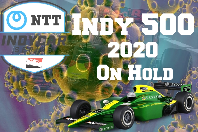 IndyCar With Holding Indy 500 race 2020
