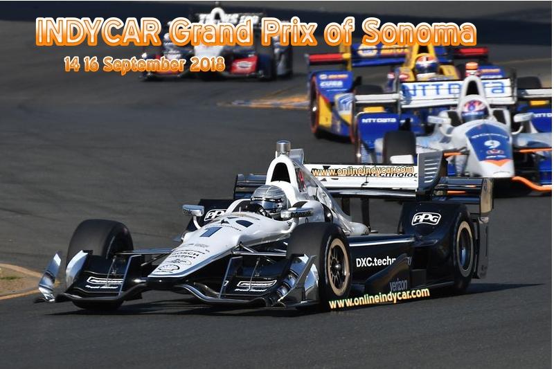 Grand Prix of Sonoma 2018 Live Stream