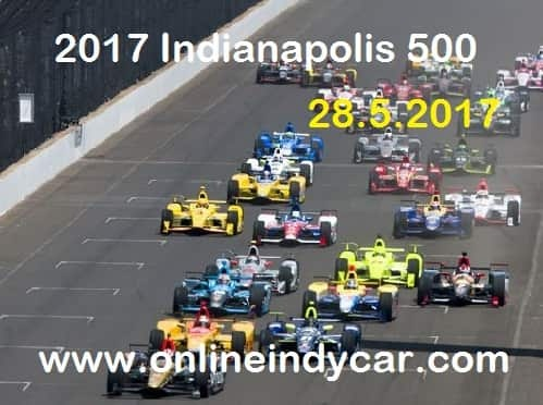 Watch Indianapolis 500 Race Live