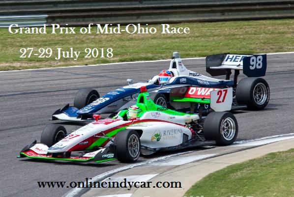 Grand Prix of Mid-Ohio Race Live Online