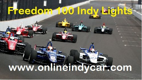 Freedom 100 Indy Lights live