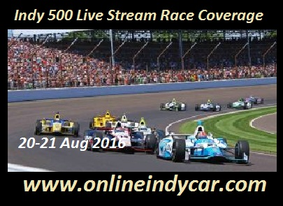 Indy 500 Live Stream Race Coverage