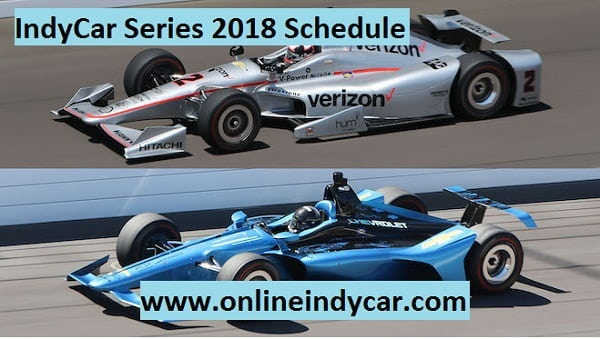 2018 Verizon IndyCar Series Fixture