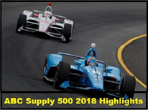 ABC Supply 500 2018 Highlights