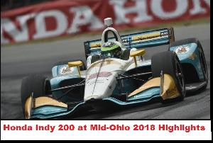 Honda Indy 200 at Mid-Ohio 2018 Highlights