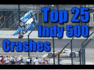 Indianapolis 500 Top 25 Crashes