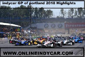 Indycar GP of portland 2018 Highlights