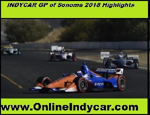 Indycar Gp of Sonoma 2018 Highlights