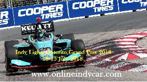 Live Indy Lights Toronto Grand Prix 2018 Online